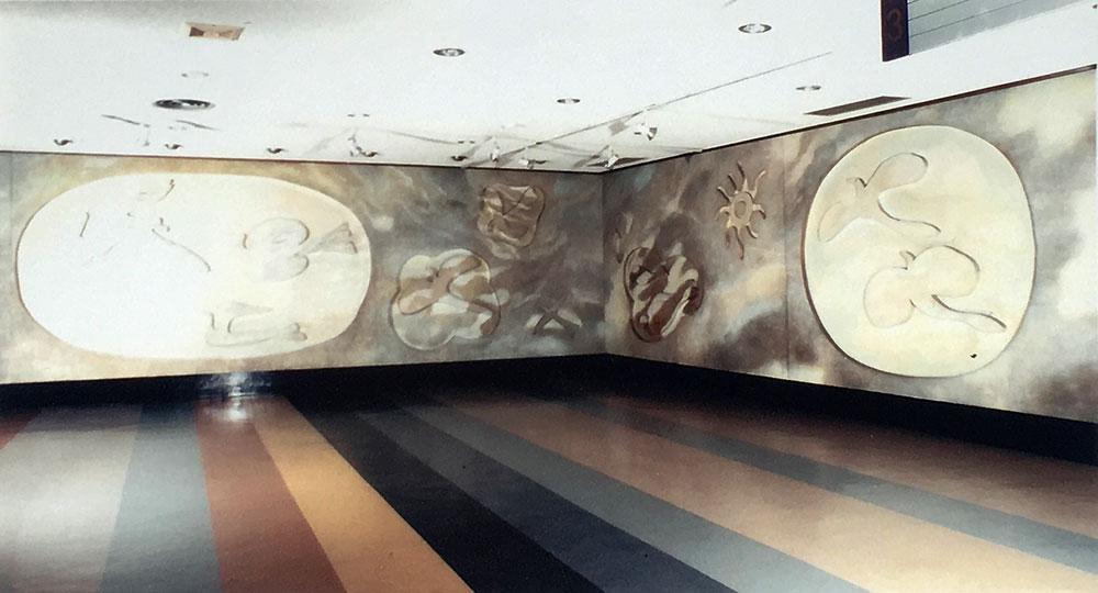 세종문화회관 대형벽화 이전설치