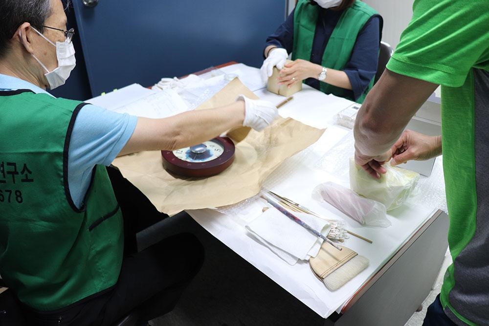 NCSOFT 소장품 상태조사, 미술품유지관리